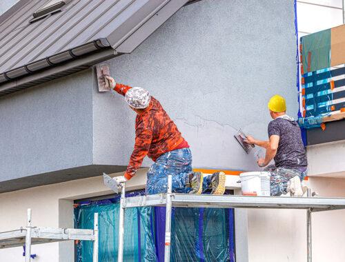 peindre mur extérieur