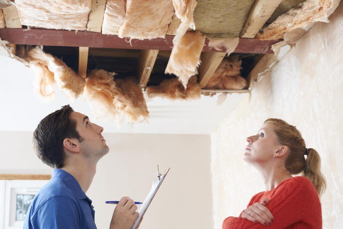 fuites du toit
